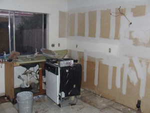 Before Kitchen Remodel in Baytown Texas