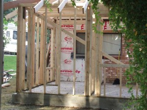 Room Addition Framing League City Texas