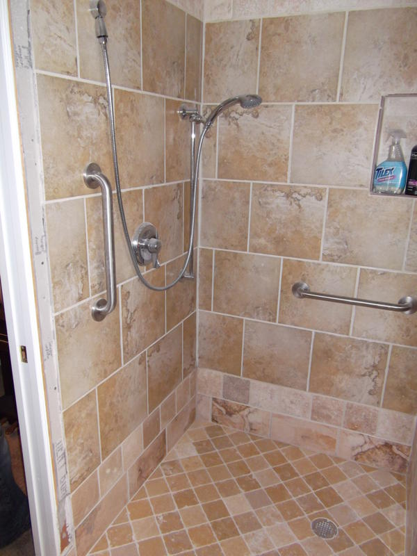 Shower Remodel Bathroom After Seabrook And Gulf Coast Kitchen Remodeling